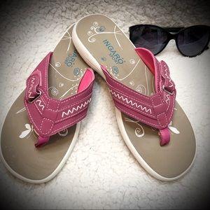 Ingaro Sport Hot Pink Adjustable Flip Flops